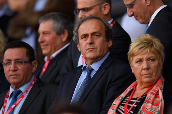 Michel Platini tu chuc chu tich UEFA hinh anh 1