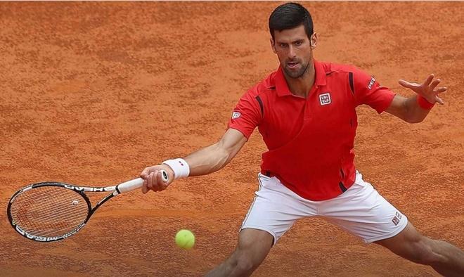 Djokovic ra quan nhoc nhan o Rome Masters 2016 hinh anh