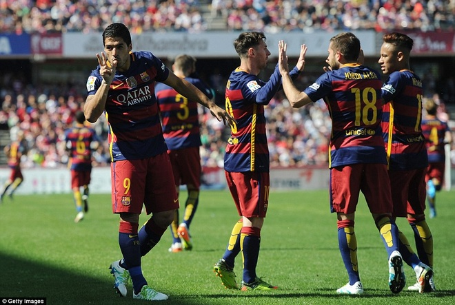Tu Luis Suarez den chen dang cua Ngai Perez hinh anh 1