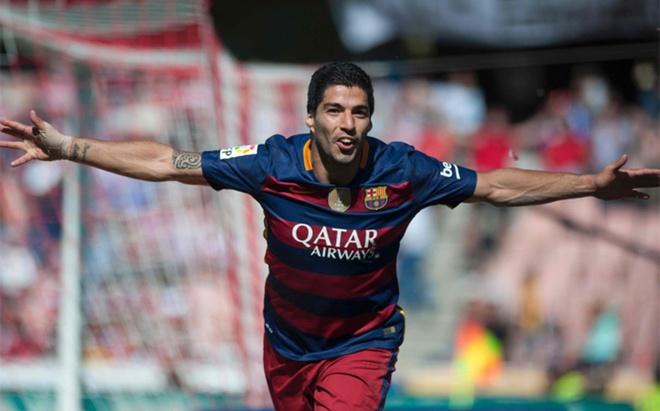 Barca la vua, con Suarez la ong chu La Liga hinh anh