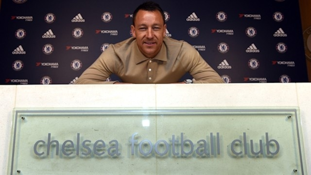 John Terry ky hop dong moi voi Chelsea anh 1
