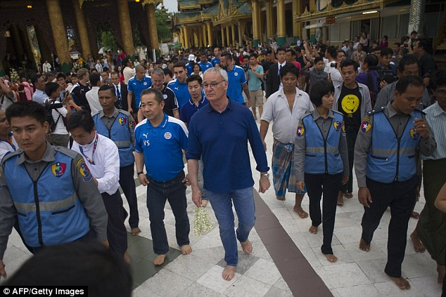Cau thu Leicester thanh tam truoc Phat tren dat Myanmar hinh anh 1