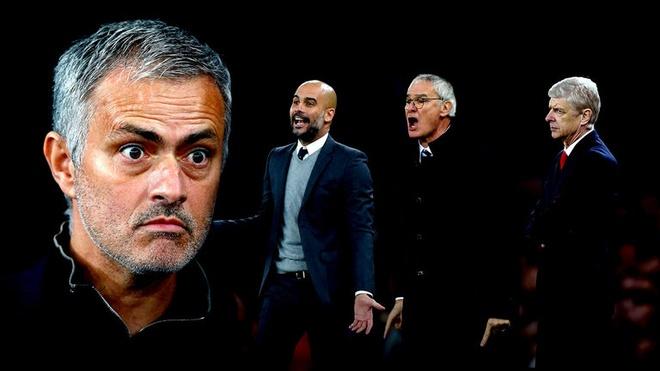 Qua nhieu oan thu dang cho Jose Mourinho hinh anh