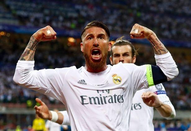 Sergio Ramos di vao lich su bang ban thang tranh cai hinh anh