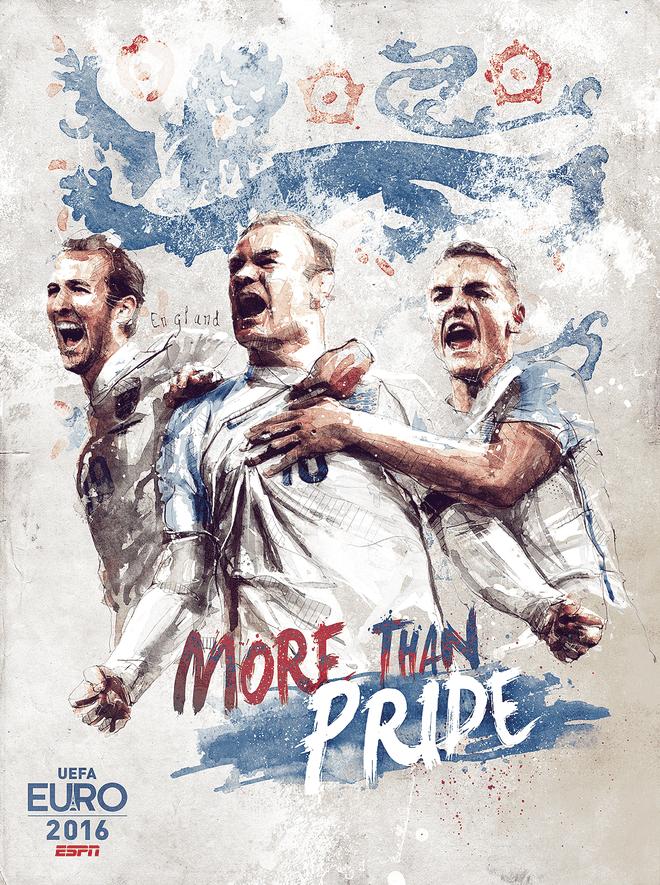 Poster ca tinh cua 24 doi du EURO 2016 hinh anh 6