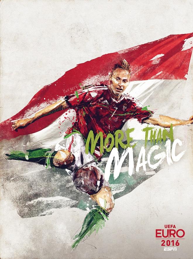 Poster ca tinh cua 24 doi du EURO 2016 hinh anh 12