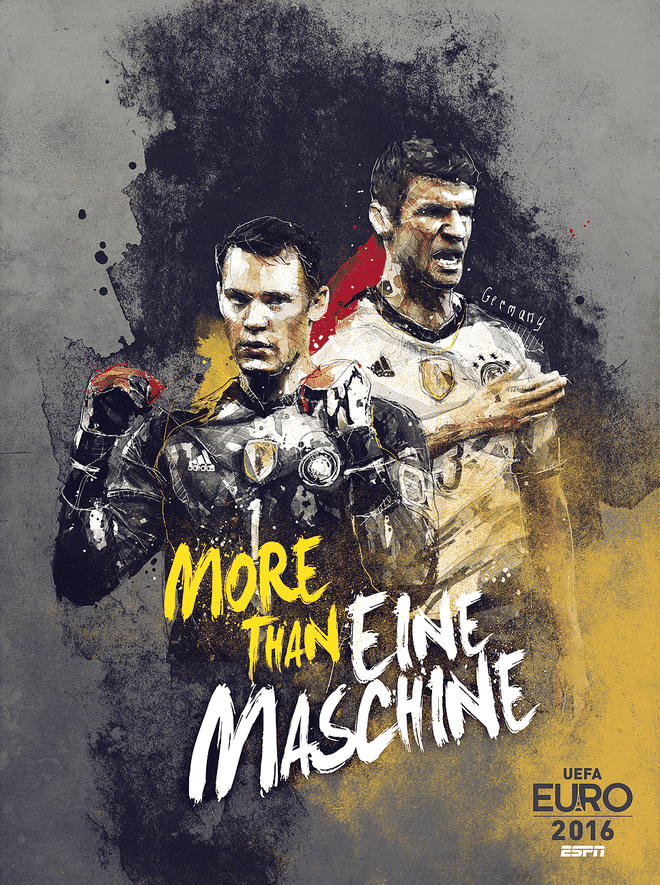 Poster ca tinh cua 24 doi du EURO 2016 hinh anh 5