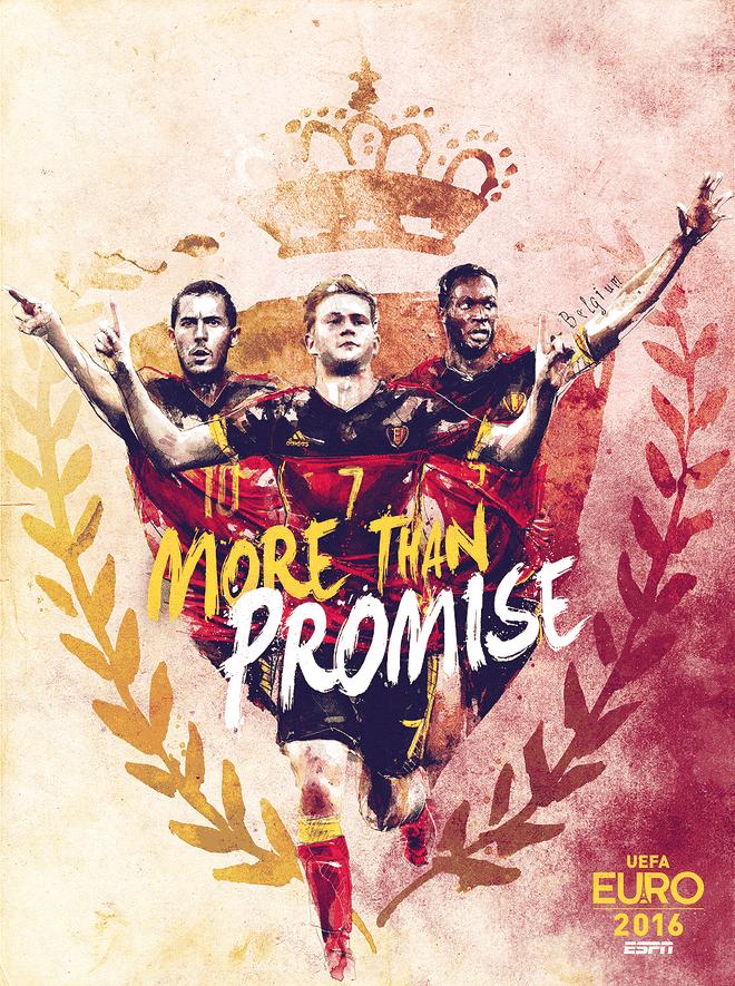 Poster ca tinh cua 24 doi du EURO 2016 hinh anh 1