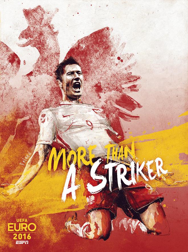 Poster ca tinh cua 24 doi du EURO 2016 hinh anh 15
