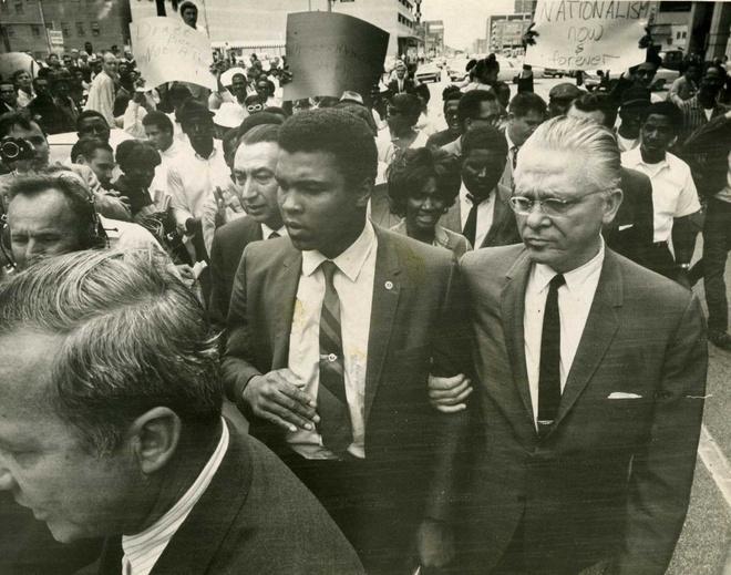 Muhammad Ali - huyen thoai di tu vi phan doi chien tranh VN hinh anh 2
