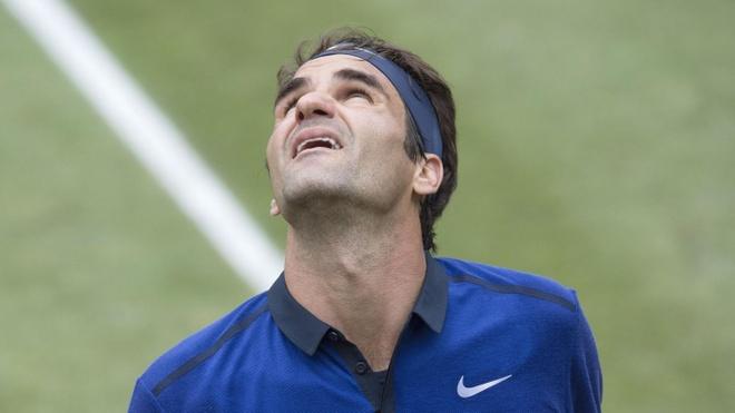 Federer thua Dominic Thiem lan thu hai lien tiep trong nam hinh anh
