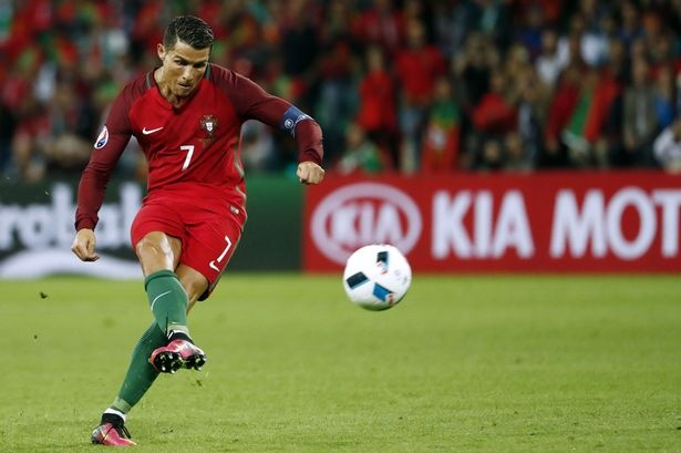 Thong ke khung khiep ve sut phat cua Ronaldo hinh anh 1