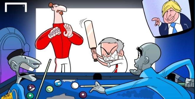 Biem hoa Ronaldo goi dien tham Messi trong tu hinh anh 1