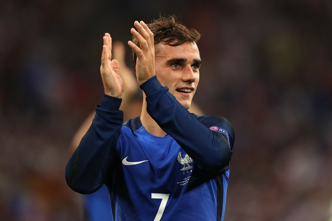 Griezmann can bang ky luc ghi ban cua Thierry Henry hinh anh
