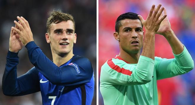 Ronaldo - Griezmann: Ngay hai so 7 kieu dung gap nhau hinh anh