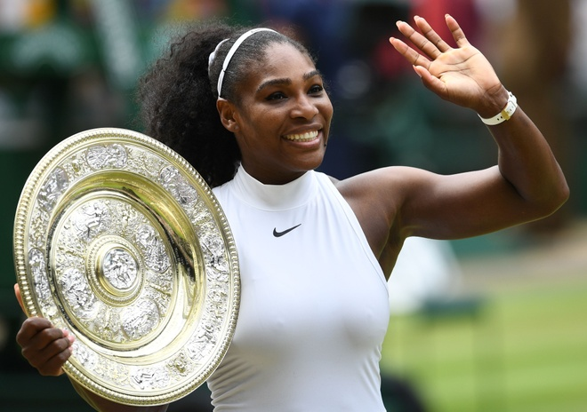 Serena Williams vo dich Wimbledon 2016 hinh anh