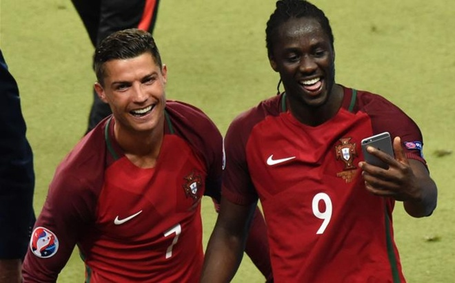 Ronaldo biet truoc Eder se ghi ban hinh anh