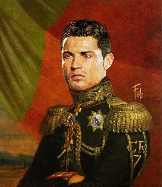 Ronaldo trong hinh hai tong tu lenh quan doi hinh anh 1