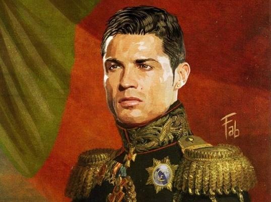 Ronaldo trong hinh hai tong tu lenh quan doi hinh anh