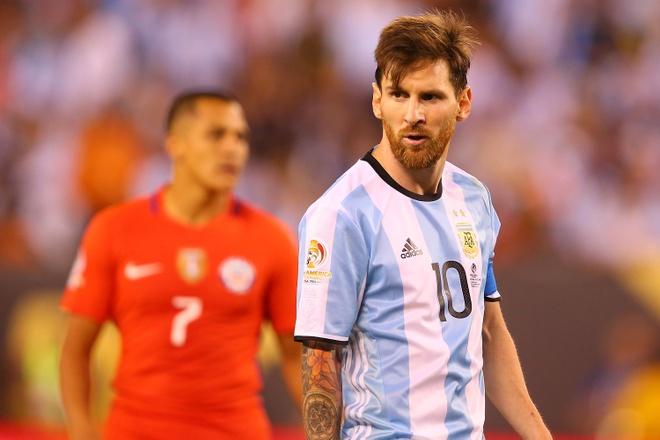 Con Messi, Argentina con bi kich hinh anh