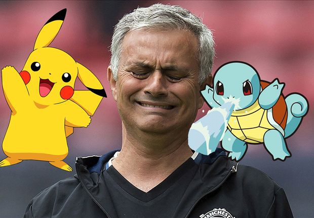 Jose Mourinho cam hoc tro choi Pokemon Go hinh anh