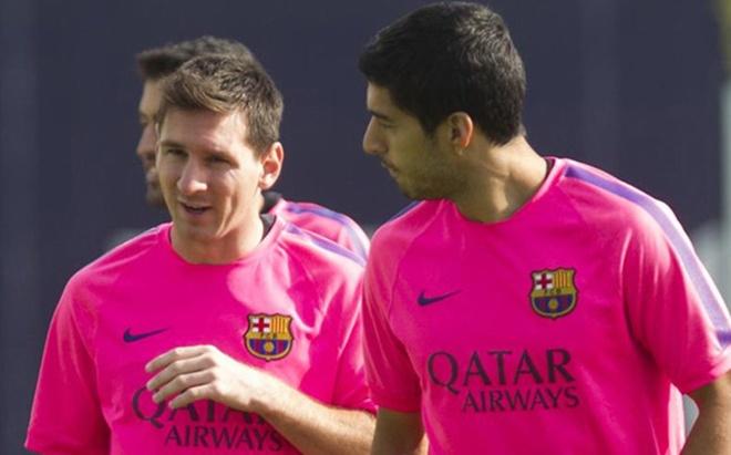Messi hoi quan som cung Barca anh 1