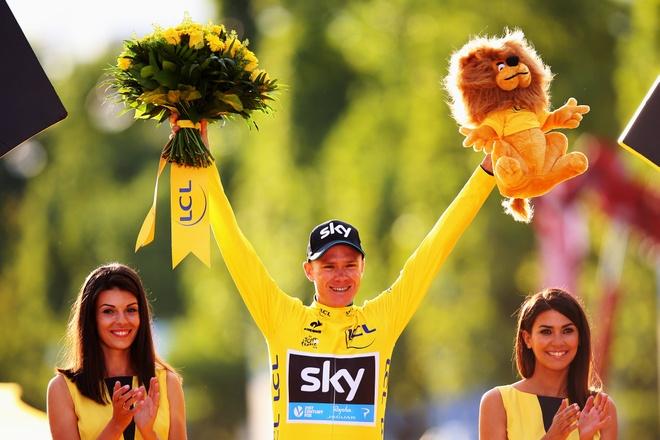 Chris Froome lan thu ba vo dich Tour de France hinh anh 1