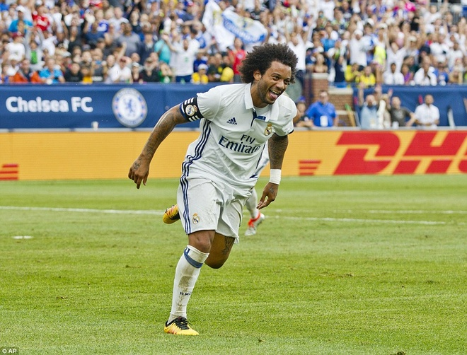 Marcelo toa sang, Real ha Chelsea tren dat My hinh anh 5