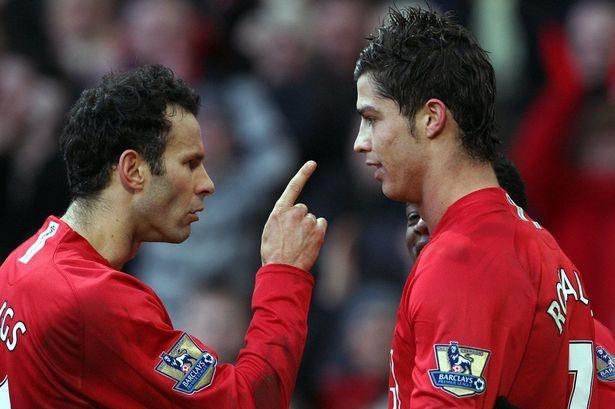 Giggs tung suyt nen Ronaldo o MU hinh anh