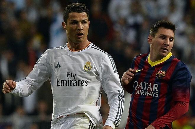 Messi van xep tren Ronaldo ve gia tri chuyen nhuong hinh anh