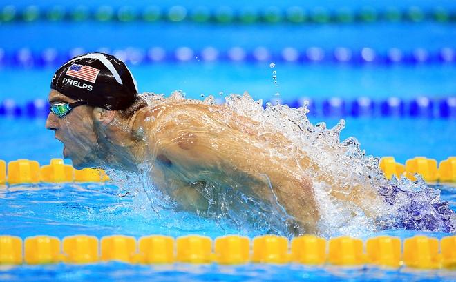 Gianh HCV thu 21, Michael Phelps hoi sinh hinh anh