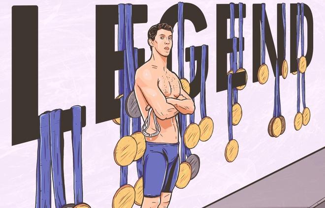 Michael Phelps: Cam hung cua ca mot the he hinh anh