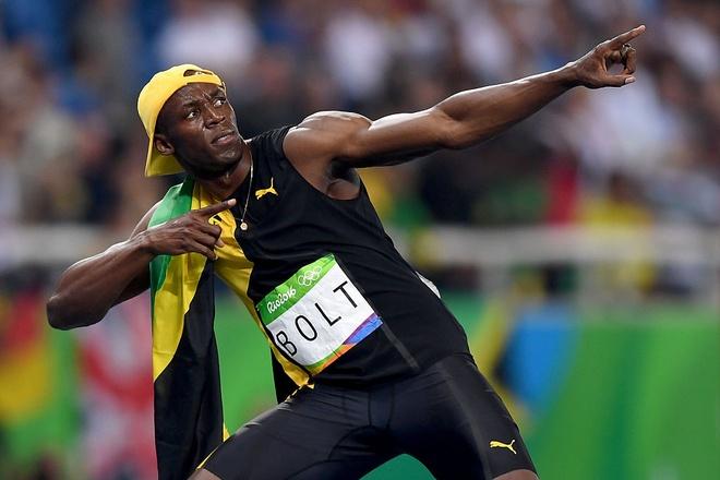 Usain Bolt gianh HCV 100 m anh 2