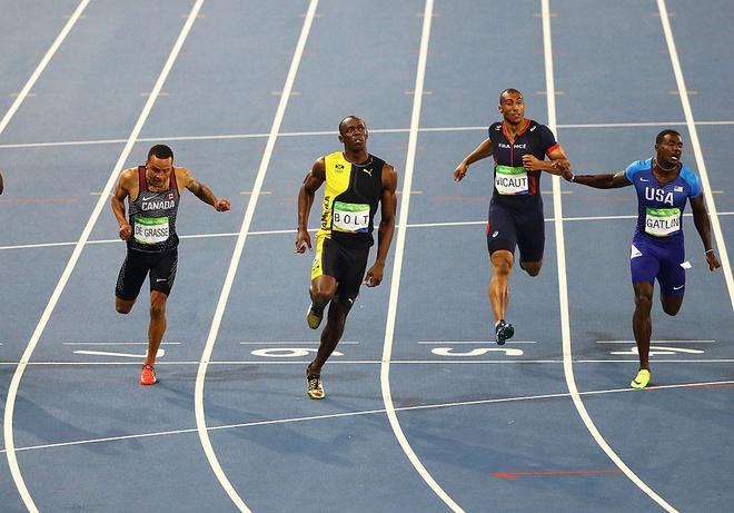 Usain Bolt che cach xep lich cua Olympic that xuan ngoc anh 2