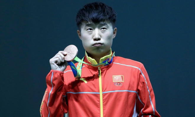 Thanh tri Trung Quoc sup do o Olympic hinh anh