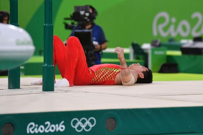 TDDC Trung Quoc truot dai tham hai tai Olympic hinh anh 1