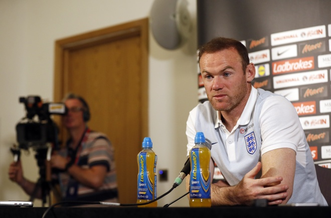 Rooney an dinh thoi diem chia tay tuyen Anh anh 1