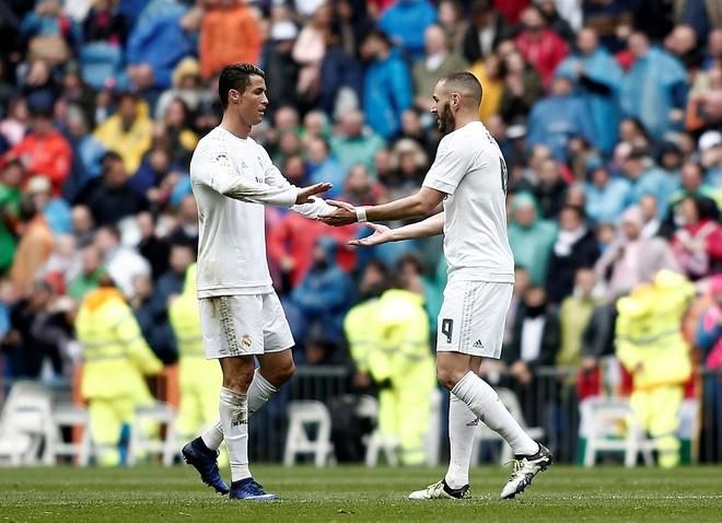 Ronaldo - Morata tao con song ngam o Real hinh anh 2