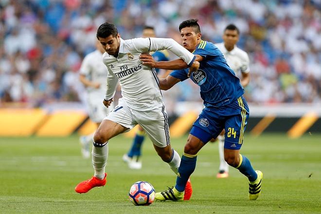 Ronaldo - Morata tao con song ngam o Real hinh anh 1