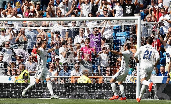 Real Madrid bung no may ghi ban hinh anh 1