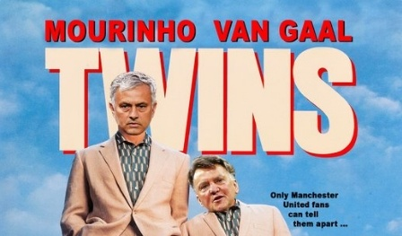 Mourinho dang tro thanh song sinh voi Van Gaal hinh anh