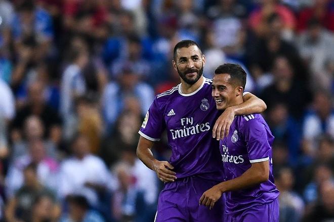 Real xay chac ngoi dau trong ngay vang Ronaldo va Bale hinh anh