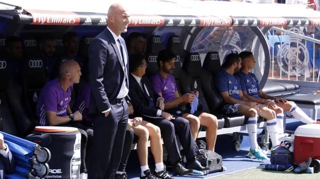 Thanh tich Zidane an dut Luis Enrique va Simeone hinh anh 1