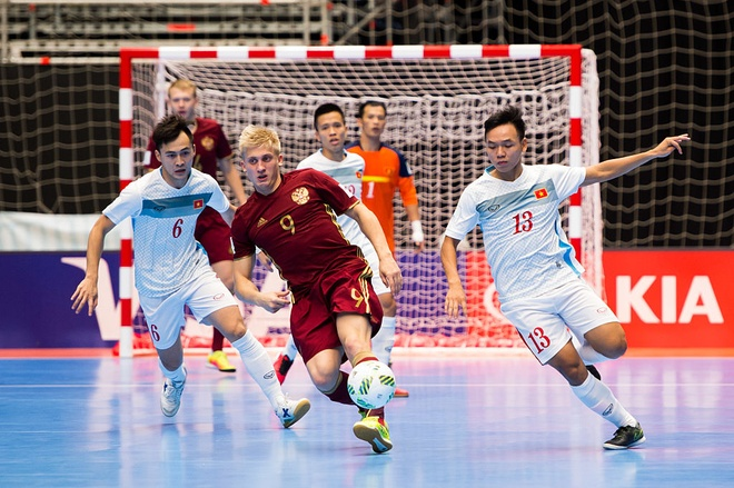 Website FIFA ca ngoi tinh than cua futsal Viet Nam hinh anh 2