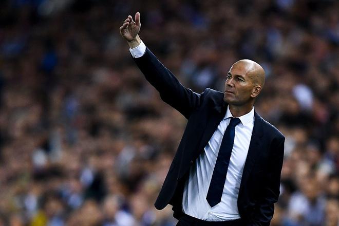 Thanh tich Zidane an dut Luis Enrique va Simeone hinh anh