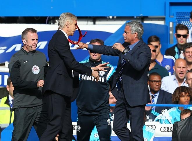 Mourinho: 'Toi se dam vo mat Wenger' hinh anh 1