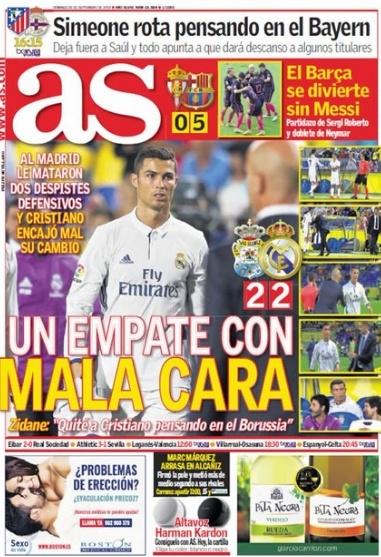 Bao Tay Ban Nha che trach Ronaldo hinh anh 2