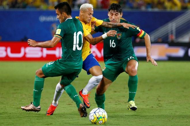Brazil vs Bolivia anh 1