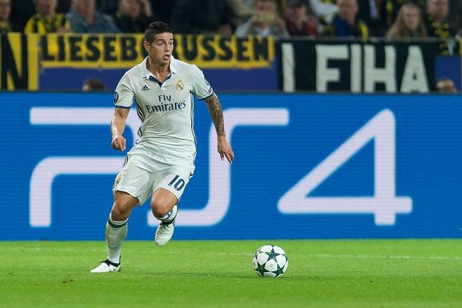 Real Madrid ngam trai dang vi James Rodriguez hinh anh 1