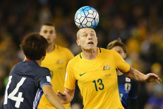 Highlights Australia 1-1 Nhat Ban hinh anh